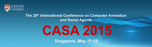 28th Annual Conference on Computer Animation and Social Agents (CASA 2015)