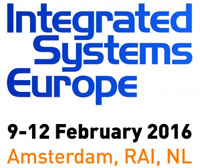 Integrated Systems Europe 2016